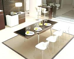 plastic mat for under dining table dining table fantastic modern brown dining room design using plastic