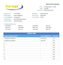 Temp Sample Agenda For Admin Meeting Free Templates Word – Konfor
