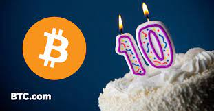 (cnn) bitcoin may have turned 10 years old but its continued drop in value is hardly cause for celebration. Happy 10th Anniversary For Bitcoin By Btc Com The Btc Blog