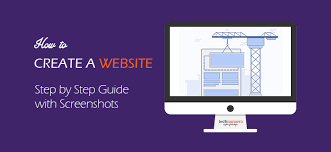 How To Create A Website Step By Step Guide To Make A