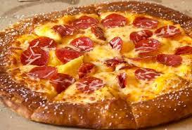 Little Caesars Pretzel Crust Pizza Taste Test Thrillist