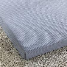 blue twin mattress. Simmons\u0026reg; Siesta 3-Inch Roll-Up Memory Foam Twin Mattress In Blue