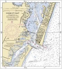 24 Complete Nautical Chart Cape May Nj