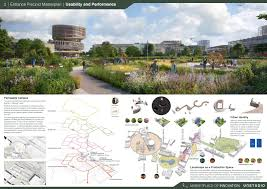 Landscape Design Presentation Board Unstudio Future Campus Ucd International Design Competition