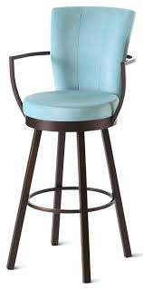 Teal Counter Stools Outstanding Best Bar Stool Images On Intended For Leather  Ordinary  Blue T26