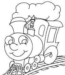 Preschool Coloring Pages 09 Coloring Pages Dibujo Tren Dibujos