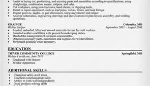 great resume for welders images gallery welding resume sitezen