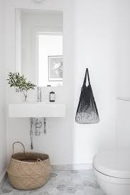 grey and white bathroom floor tiles. i wish lived here: soft shades of grey in sweden and white bathroom floor tiles