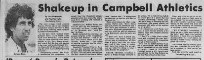 APRIL 30, 1979: Campbell AD Marlyn Burke faces first challenge ...