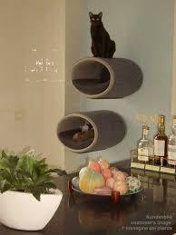 designer cat trees furniture.  Trees RONDO WALL Felt A Designer Cat Tree Throughout Designer Cat Trees Furniture T