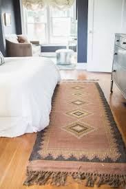 rug under bed hardwood floor. Santa Fe Rug. Loved The Muted Colors. Pairs Perfectly With Bright White Bedding #rug #decor #bedroom Rug Under Bed Hardwood Floor