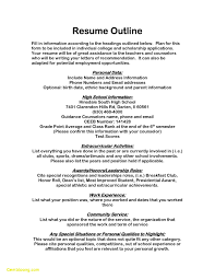Sample Resume For High School Students Applying For Scholarships ...