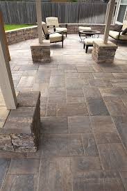tremron bluestone paver patio