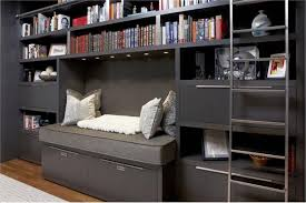 Custom Made Wall Unit With Nook From Aguirre Design Inc