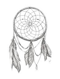 Pictures Of Dream Catchers To Draw Drawn dreamcatcher dream Pencil and in color drawn dreamcatcher 50