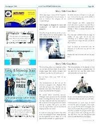 Editable Newspaper Template Word 4 Column Inside Page Word Newspaper Template Free Download