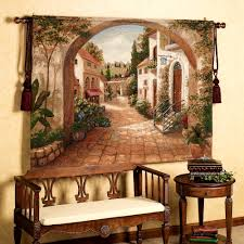 Italian Themed Kitchen Mediterranean Decor Mediterranean Home With Brown Rustic Table