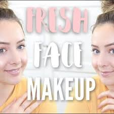 fresh face everyday makeup tutorial