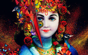 God Krishna Hd Wallpapers Wallpaper Cave