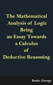 the mathematical analysis of logic being an essay towards a  save 8 60 90% by choosing the kindle edition