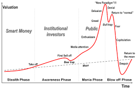 Bitcoin Past Charts The Stages Of A Bubble W Real World Bitcoin And Global Alt