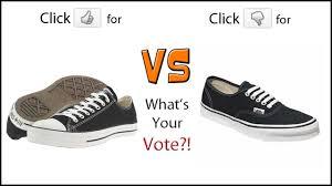 converse vs vans. survey week:vans vs converse vans a