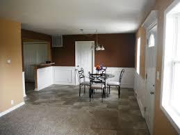 Modern Dining Room With High Ceiling U0026 Hardwood Floors  Zillow Modern Looking Chair Rail