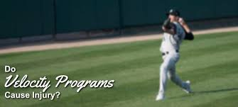 do velocity programs cause pitching injuries