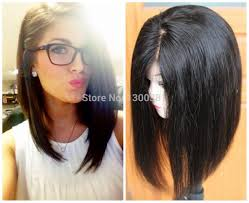 Women Hairstyle Bob Hairstyles With Weave Brave Middle Part