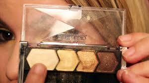 yellow gold eye makeup tutorial