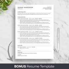 High School Ats Resume Template For Word Simple Entry Level