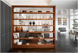 Open Bookshelf Room Divider Ikea 4 Panel Book Shelves Walnut throughout Ikea  Expedit Bookcase Room Divider