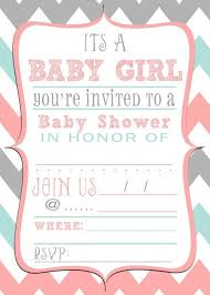 Free Printable Baby Shower Invitations For Girls Baby Shower Invitations Free Printable Baby Shower
