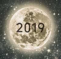 Full Moon Chart 2019 Full Moon And New Moon Calendar For 2019