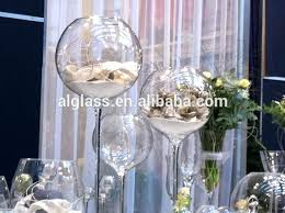 incredible large wine glass centerpiece tall vase design giant with bowl for meme ornament table decoration