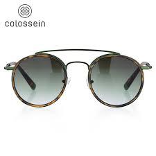 fashion polarized sunglasses women brand designer chain polygonal sun glasses female gradient shades goggle q29930