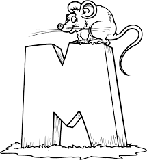 Small Picture Letter M Coloring Page zimeonme