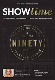 Showtime fall15 by Shannon Media issuu