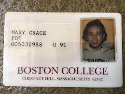 'fake' Look Poe Ssn College It To Boston Shows Id Disprove