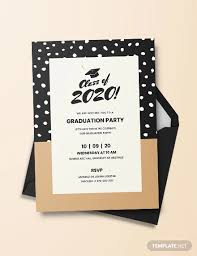 Graduation Announcements Template 42 Printable Graduation Invitations Psd Ai Word Free