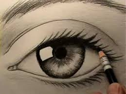 eyes drawings how to draw a realistic eye youtube