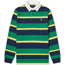 striped rugby shirt image