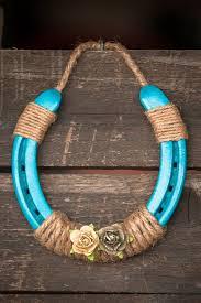 25 best horse shoes crafts ideas on pinterest horse shoes Wedding Horseshoe To Make turquoise horse shoe by jaksvintagethings on etsy Horseshoes Game Wedding
