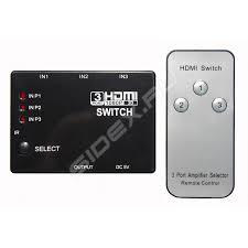 Разветвитель HDMI (<b>Palmexx PX</b>/<b>SWITCH</b>-<b>3HDMI</b>-<b>RC</b>) (3 порта ...