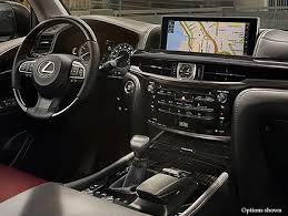 2018 lexus minivan. delighful lexus interior shot of the 2018 lexus lx on lexus minivan