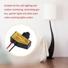 Mini Photocell Light Sensor 12v Mini Remote Photocell Dusk To Till Dawn Automatic Light Switching Sensor