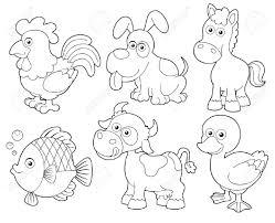 Dibujos Para Colorear De Animales De