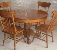 fresh ideas antique oak dining room furniture pedestal table interior corktownseedco 47 inch round claw foot