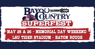 Bayou Country Superfest 2019 Travel Packages Cid