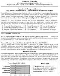 General Manager Resume Sample Management Cover L Peppapp